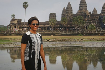 Michelle Obama Former First Lady of the United States March 2015