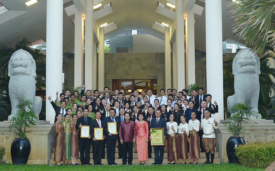 Borei Angkor Resort & Spa Wins the Most Eco-Business Awards