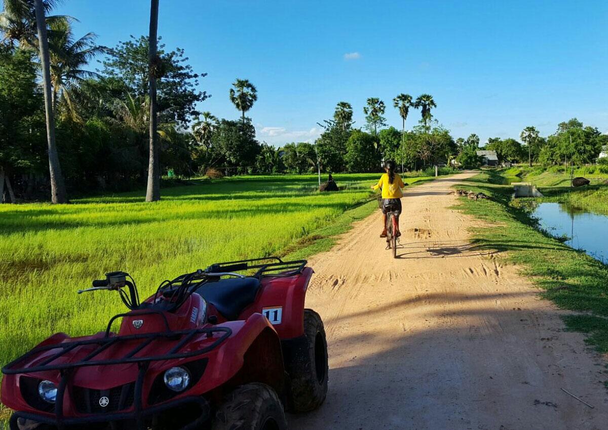 柬埔寨沙滩车探险