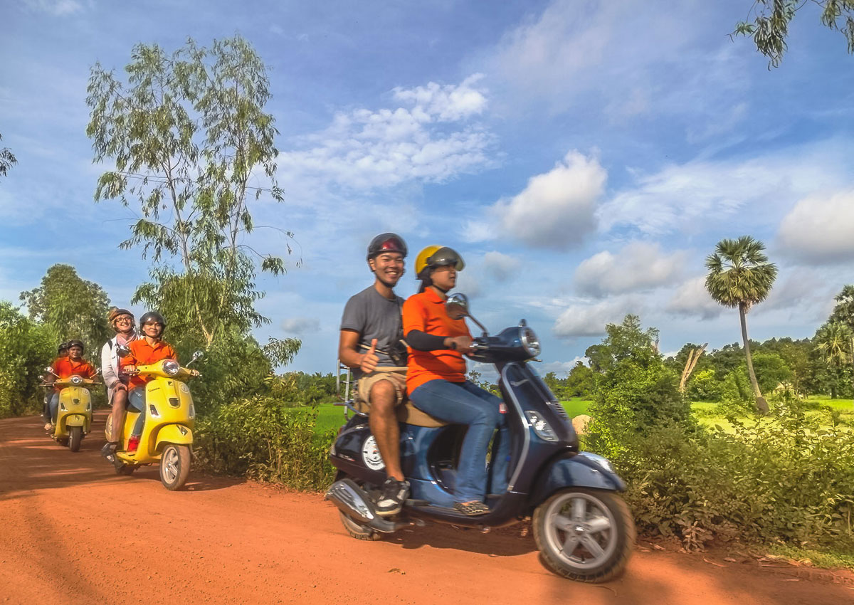 Siem Reap Vespa Adventures