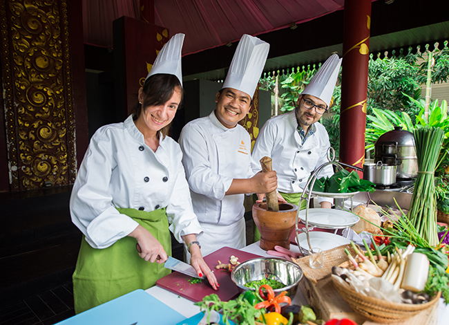 Learn Cooking @Borei Angkor