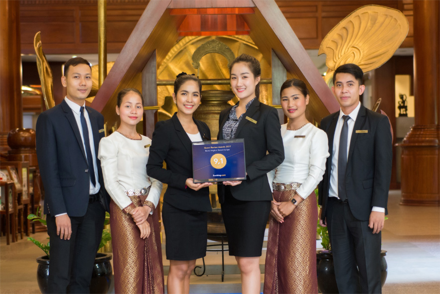 GUEST REVIEW AWARDS 2017 GOES TO BOREI ANGKOR RESORT & SPA, SIEM REAP