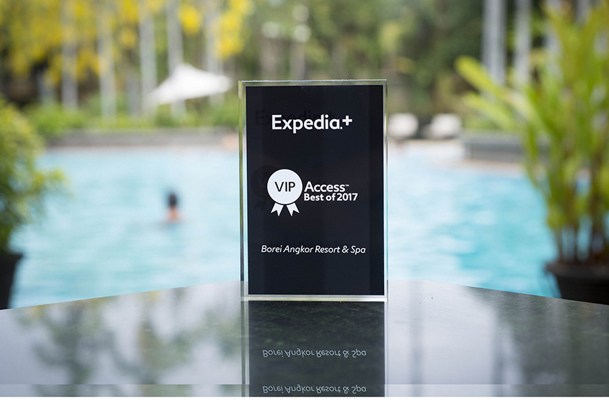 BOREI ANGKOR RESORT & SPA, A WINNER FOR EXPEDIA BEST OF VIP ACCESS AWARD 2017