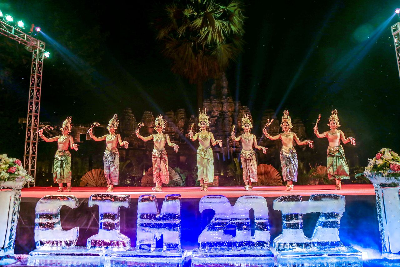 ONE OF THE BIGGEST EVENTS AT BAYON TEMPLE CATERED BY BOREI ANGKOR