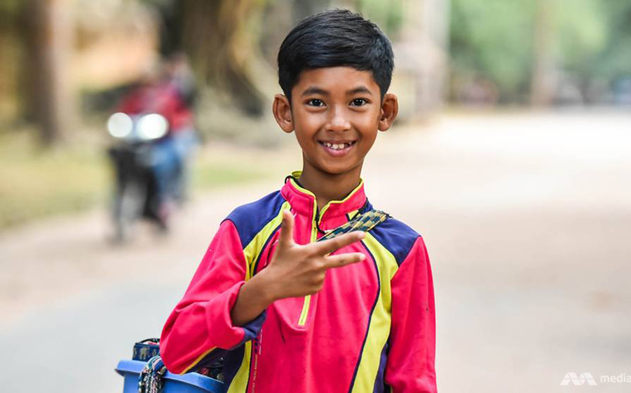 A Multilingual Cambodian Boy Became an Online Sensation Overnight