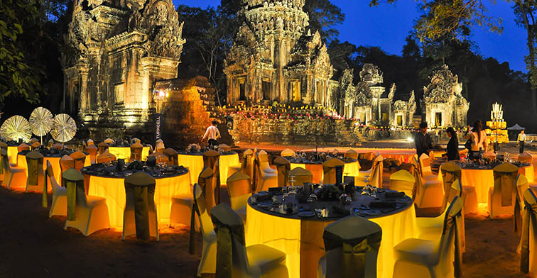 TEMPLE DINING BY BOREI ANGKOR
