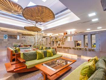 Greeting lounge at Borei Angkor