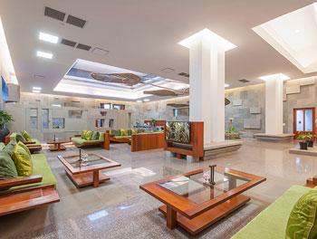 Farewell lounge at Borei Angkor