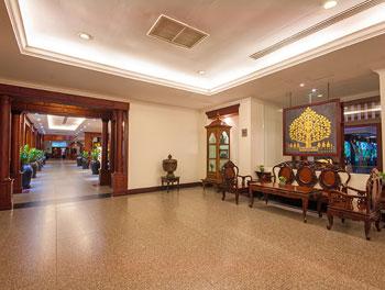Waiting area at Borei Angkor