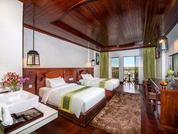 Borei Deluxe Twin Bed Room