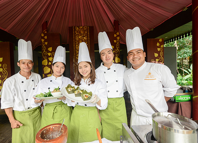 Cooking class by Borei Angkor