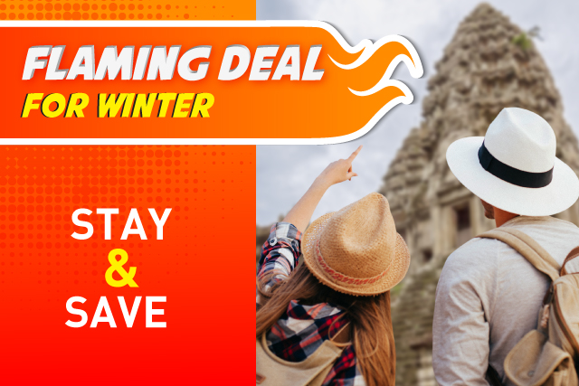 Flaming Deal for Winter